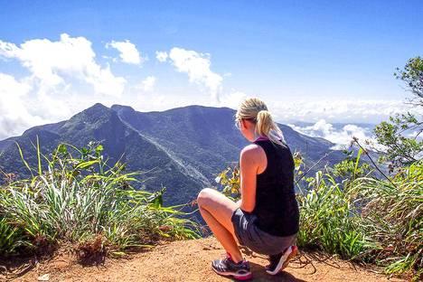 Sri Lankalla Anna-Katri tykästyi luonnonpuistoihin.