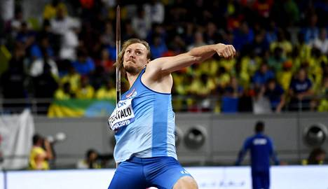 Etelätalo oli tuloksellaan 82,49 keihään loppukilpailussa neljäs.
