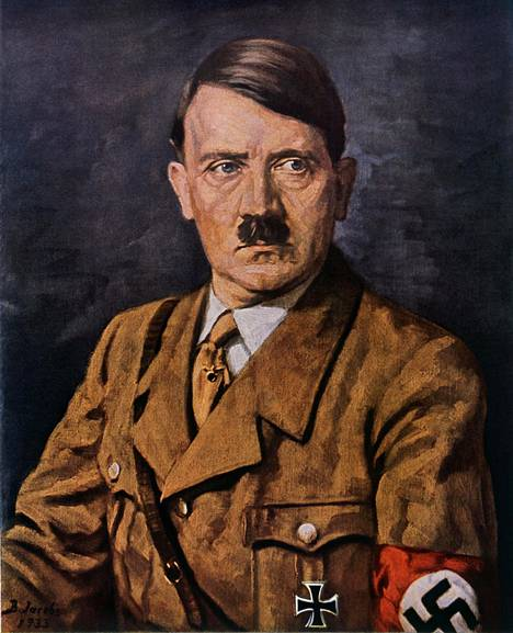 Hitler, demokratian vihollinen.