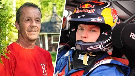 Rallivalmentaja Tapio Laukkanen arvioi F1-tähti Kimi Räikkösen vahvuuksia ja heikkouksia. Kuvassa Räikkönen ralliautossa 2010.