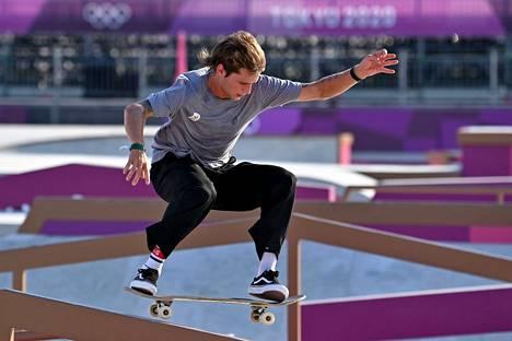 Axel Cruysberghs on harjoittelut Tokion olympia-areenalla tällä viikolla.