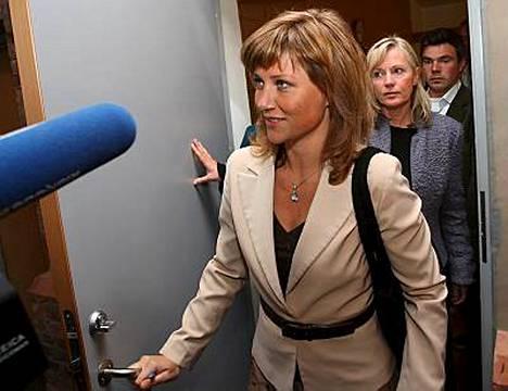 Pientä kirjakustantamoa vastaan oikeusjutun nostanut prinsessa Märtha Louise nähtiin eilen norjalaiskäräjillä.