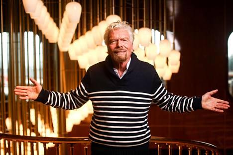 Richard Branson laajentaa Virgin-imperiumiaan.