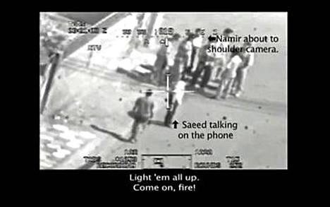 Yhdysvaltain armeijan helikopterista kuvattu video puhutti aikaisemmin tänä vuonna.