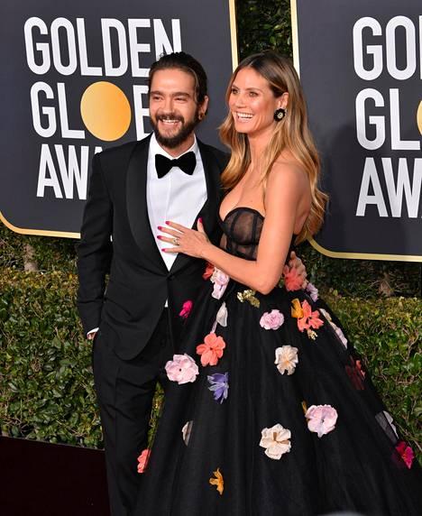 Tuore avioliitto on Heidi Klumille kolmas. Tom Kaulitz puolestaan on ehtinyt naimisiin kerran aiemmin.