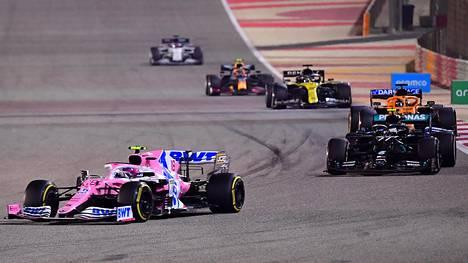 Bahrainin Sakhirin radalla ajettiin viime kaudella kaksi osakilpailua.
