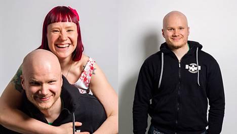 Lauri Vuohensilta tekee videoitaan yhdessä puolisonsa kanssa.