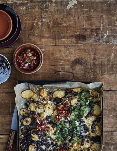 Ihana mättöruoka nachopelti on vielä parempaa perunasta tehtynä!