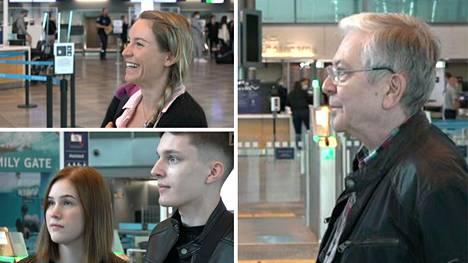 Helsinki-Vantaan lentoasemalta suunnattiin muun muassa lomailemaan, sukulaisia tapaamaan ja purjehtimaan.
