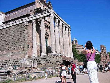 Rooma: harjoittelun lisäksi vapaapäiviä historiallisen suurkaupungin arjessa.
