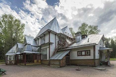 Taiteilija Ilja Repinin koti Kuokkalassa.