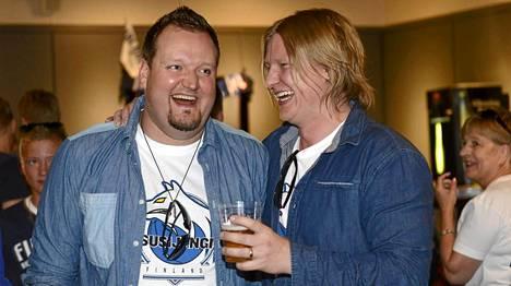 Sami Hedberg oli seuraamassa koripalloa viikko sitten lauantaina Bilbaossa yhdessä Jaajo Linnonmaan kanssa.