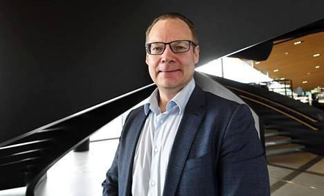 Savonlinnan kaupunginjohtaja Janne Laine.