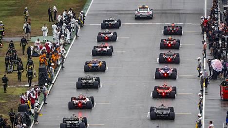 Hockenheimissa 2019 F1:n lähtöruudukon järjestys määriteltiin vielä perinteisin menoin.