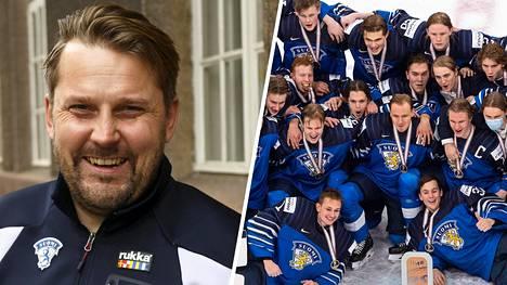 Pronssimitalit maistuivat Antti Pennasen valmentamalle joukkueelle.