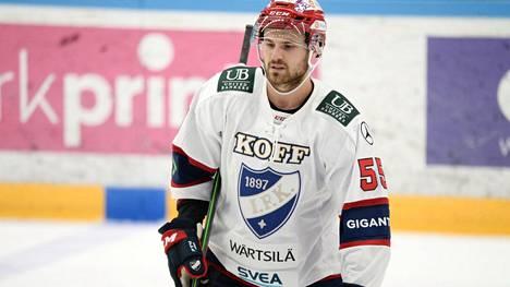 Kasper Kotkansalo on aloittanut SM-liigakauden hienosti.