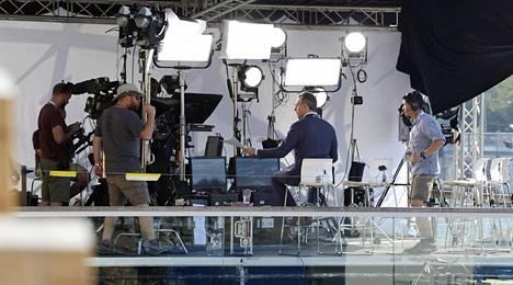 CNN on lähettänyt suoraa lähetystä koko viikonlopun ajan.