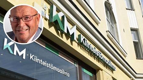 –Meidän tavoitteenamme on selkeä kasvu ja odotamme, että kasvu tosiaan jatkuu, Kiinteistömaailman toimitusjohtaja Risto Kyhälä sanoo.