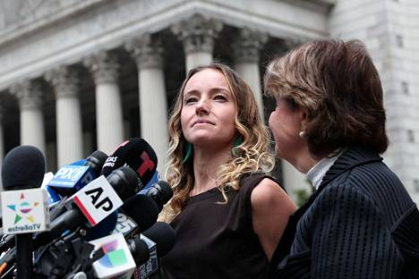 Teala Davies on yksi niistä naisista, jotka ovat syyttäneet Epsteiniä rikoksista
