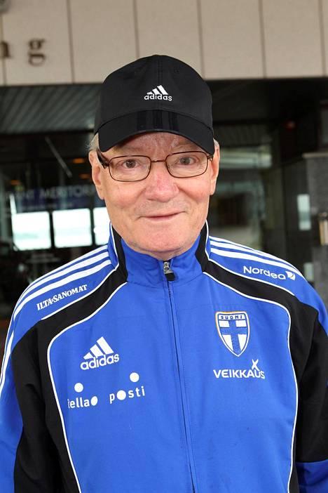 Gunnar Yliharju vuonna 2010.
