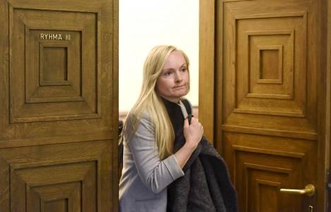 Maria Ohisalo otti ohjat Aallon jäätyä sairauslomalle.