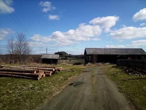 Säitämän kylässä oli vielä vastikään jäljellä leirilavasteiden puita, joista piti rakentaa suomalaisten ylläpitämien leirien muistomuseo.