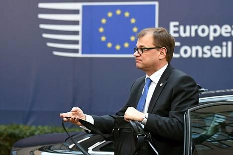 Suomen pääministeri Juha Sipilä (kesk) osallistui EU-kokoukseen Brysselissä 17. joulukuuta. IS:n kyselyssä pääministeri sijoittui toiseksi.
