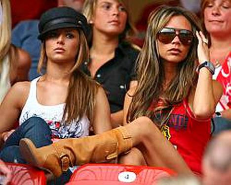 Victoria Beckhamia epäillään usein anorektikoksi.