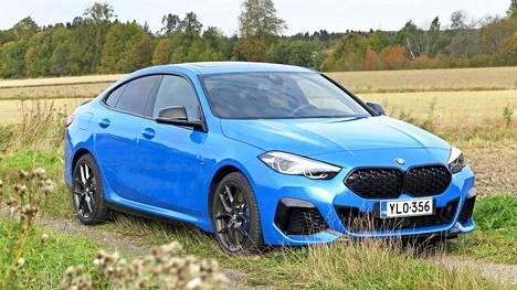 Uuden 2-sarjan Gran Coupén hienoin malli on kaunis katsella ja Misanon sininen väri sopii siihen mainiosti.