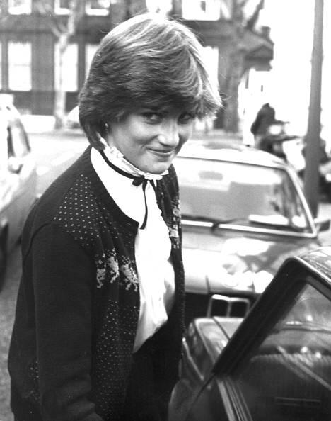 19-vuotias Diana Spencer.