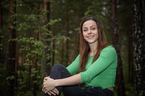 Maria Huntington otteli 6053 pistettä Uppsalassa.