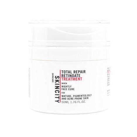 Skincity Skincare Total Repair Retinoate Treatment -yöhoitotuote on suosittu tuote, 47 €.