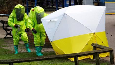 Sergei Skripal ja hänen tyttärensä yritettiin myrkyttää maaliskuussa Britannian Salisburyssa.