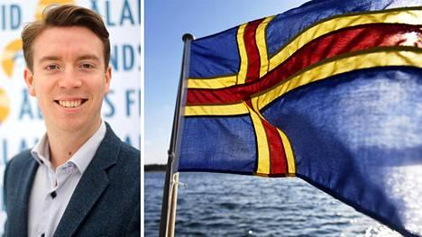 Axel Jonsson haluaa Ahvenanmaasta itsenäisen.