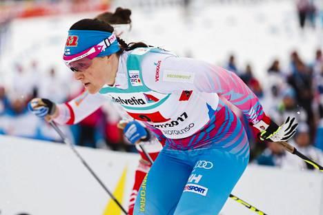 Saarinen Lahden MM-kisoissa 2017.