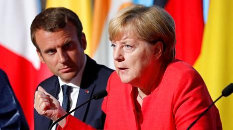 """Macron: Ranska haluaa """"vahvan ja vakaan"""" Saksan"""