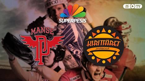 Katso naisten Superpesiksen kärkiottelu Manse PP-Kirittäret suorana ISTV:ssä!