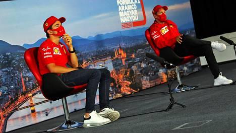 Ferrarin olisi pitänyt olla vaiti Sebastian Vettelin (oik.) lähdöstä pitempään, toteaa yrityksen entinen pääjohtaja.