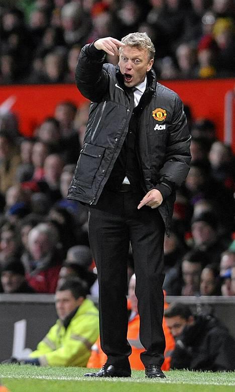 Saako manageri David Moyes Manchester Unitedin kurssin kääntymään?