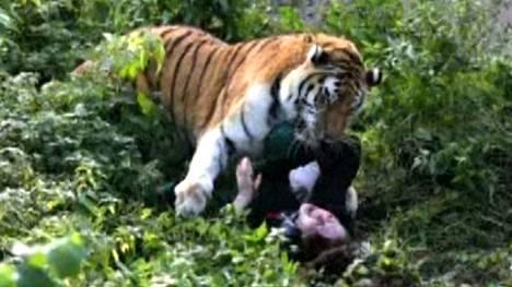 Vaarallinen tilanne näkyy Reutersin välittämissä kuvissa.