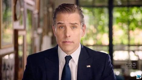 Hunter Biden esiintyi demokraattien puoluekokousvideolla viime kesänä.