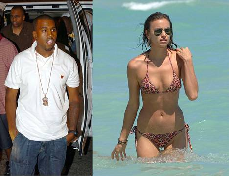 Räppäri Kanye West on nähty viimeaikoina huippumalli Irina Shaykin seurassa.