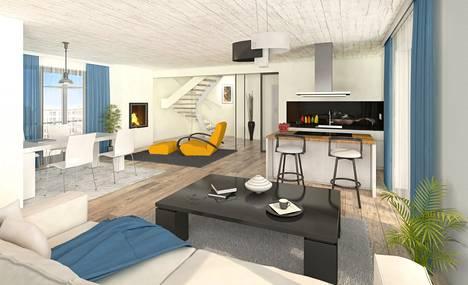 Tulevat hotellihuoneet ja loma-asunnot ovat toteuttu vaativaan makuun.