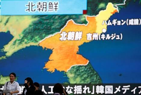 Pohjois-Korean ydinkoe herätti suurta huolta Japanissa.