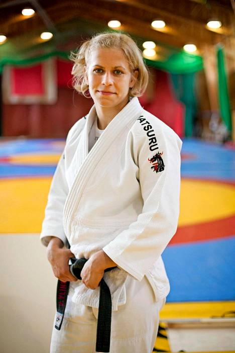 Judoka Johanna Ylinen.