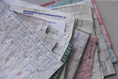 Asemapäällikönkadulta löytyneet ehkäisyneuvonnan paperit sisältävät arkaluontoista tietoa, muun muassa merkintöjä potilaiden sukupuolitaudeista.