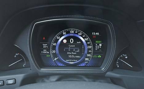 Eko-ajotilaa käyttäen bensiiniä kului kevyessäkin ajossa keskimäärin 10,5 litraa sadalla.