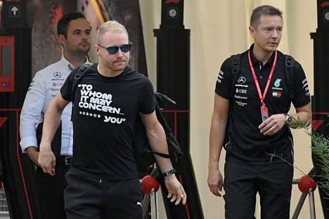 """""""Paha Bottas"""" Singaporen GP:ssä syyskuussa 2019."""