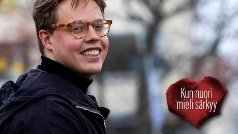 Jonne Juntura työskentelee nyt 27-vuotiaana itse terveyskeskuslääkärinä Helsingissä.