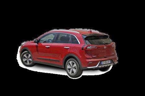 Noin 4,4-metrinen Kia Niro on C-segmentin kompakti crossover-hybridi, jollaisia ei Euroopan markkinoilla ole vielä nähty.